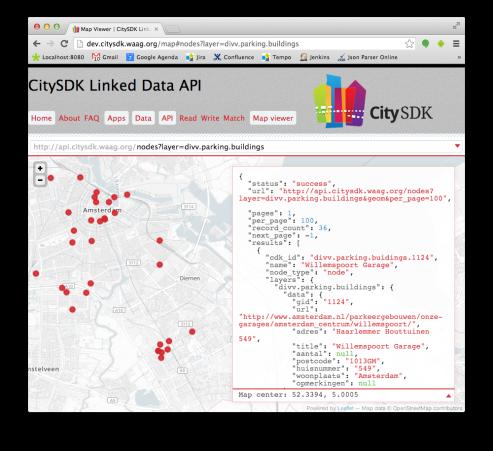 CitySDK preview